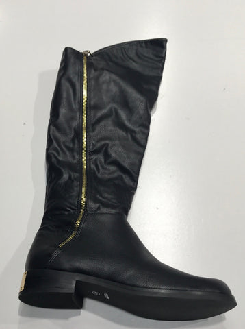 Exe Diana-400 Black Leather Boots