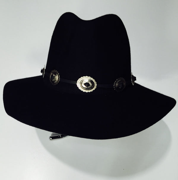 Leather Concho Hat Band FRSW401