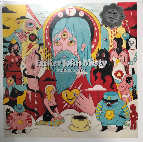 Father John Misty Fear Fun Vinyl LP