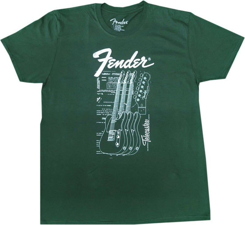 Fender Telecaster Guitar T-Shirt Famous Rock Shop Newcastle 2300 NSW Australia