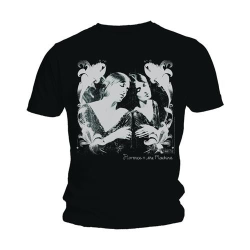 Florence & The Machine 'Negatives' Black T-Shirt