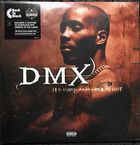 DMX It's Dark and Hell Is Hot Vinyl LP Famous Rock Shop Newcastle 2300 NSW Australia