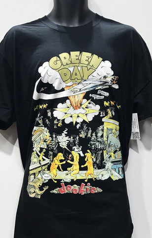 Greenday Dookie Men's Tshirt Black