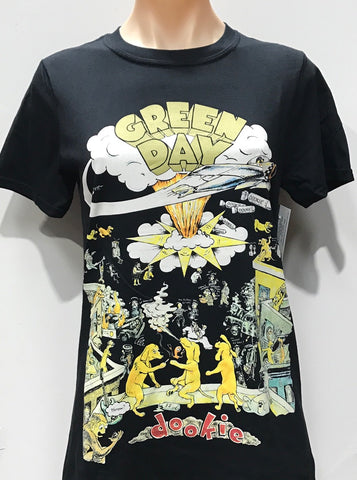 Greenday Dookie Women's Tshirt Black