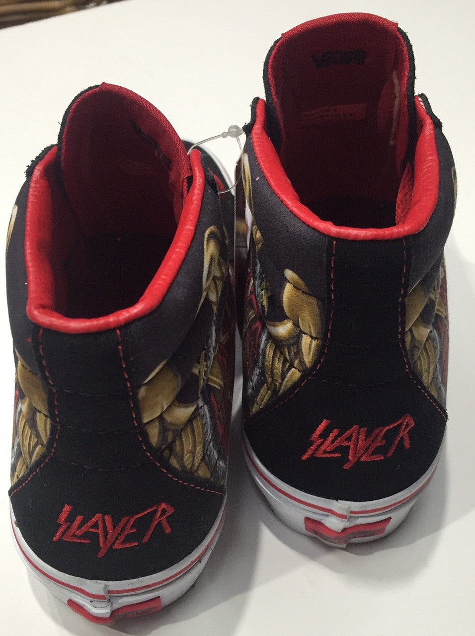 Vans SK8 Hi (SLAYER) Black – Famous Rock Shop 4280db633
