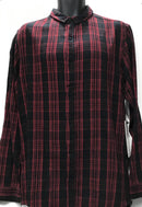 Central Plaid Long Sleeve Shirt Red / Black
