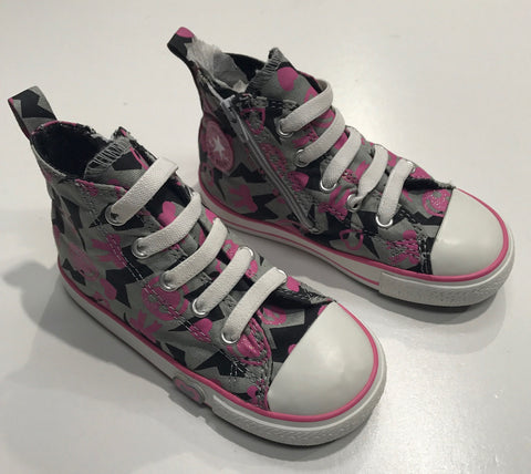 Converse Hi Youth Zip Smiley