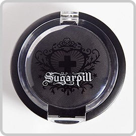 Sugarpill Matte Bulletproof Black Pressed Eyeshadow