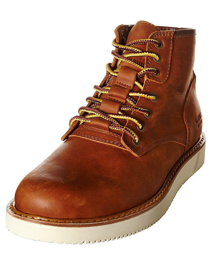 40cd6cbb7a01 Globe Nomad Toffee Leather Boots 1