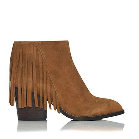 Billini Gail Tan Vegan Suede Boots