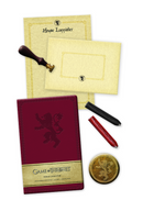 Game of Thrones: House Lannister Deluxe Stationery Set