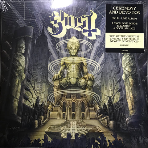 Ghost Ceremony and Devotion Vinyl LP JAN19NR Famous Rock Shop Newcastle 2300 NSW Australia
