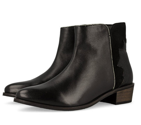 Gioseppo Stuttgart Black Leather Boots