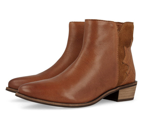 Gioseppo Stuttgart Tan Leather Boots