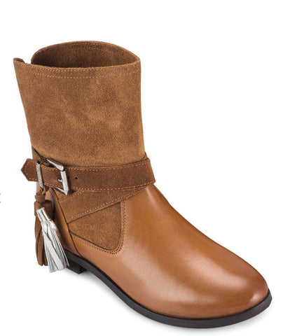 Gioseppo Vermont Tan Leather Boots