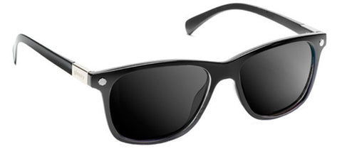 Glassy Sunhaters Biebel Matte Black Grey Polarized Sunglasses