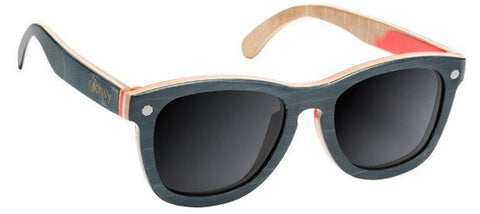 Glassy Sunhaters Deric Skatewood Polarized Sunglasses