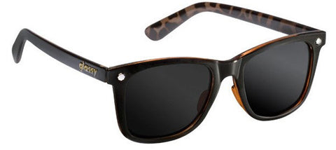 Glassy Sunhaters Mikemo Black Tortoise Polarized Sunglasses