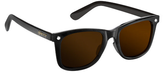 dea0cf6db0a Glassy Sunhaters Mikemo Matte Black Brown Lens Polarized Sunglasses Famous  Rock Shop Newcastle