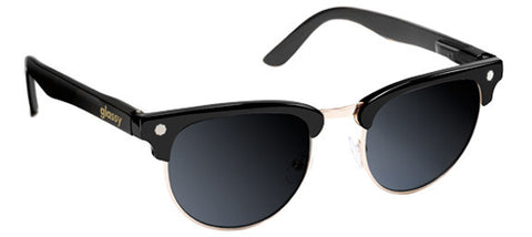 Glassy Sunhaters Morrison Black Gold Polarized Sunglasses