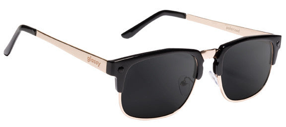 e1d74023c8b Glassy Sunhaters P-Rod - Black Gold Polarized Sunglasses Paul Rodriguez   Signature Famous Rock