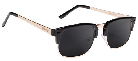 Glassy Sunhaters P-Rod - Black Gold Polarized Sunglasses