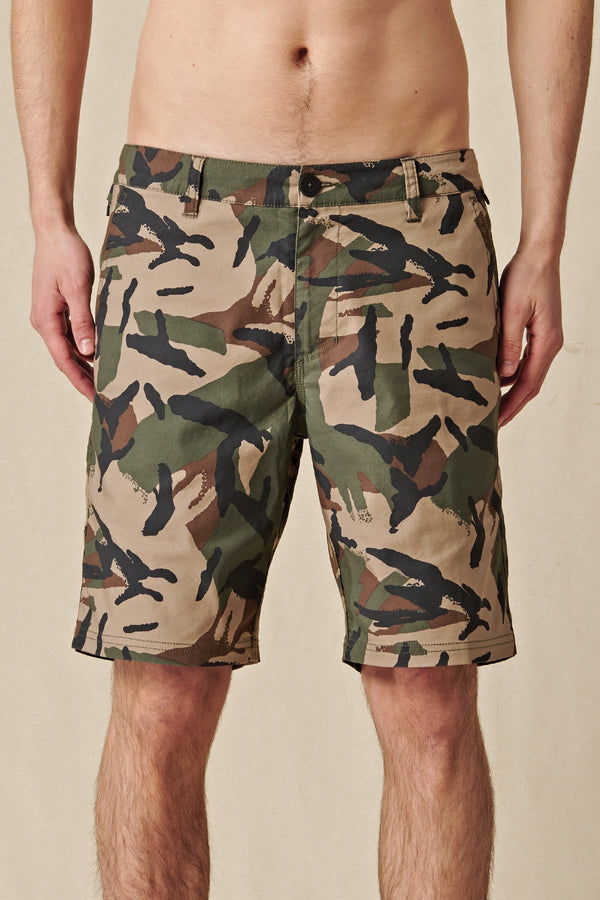 Globe Any Wear Short Olive Camo GB2006001