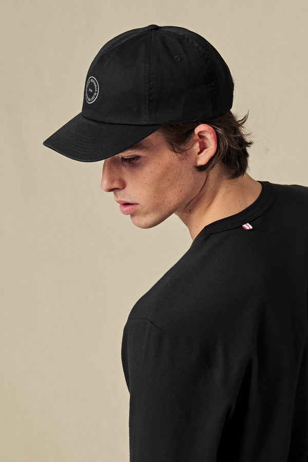 Globe Full Circle Cap Washed Black  GB72009000