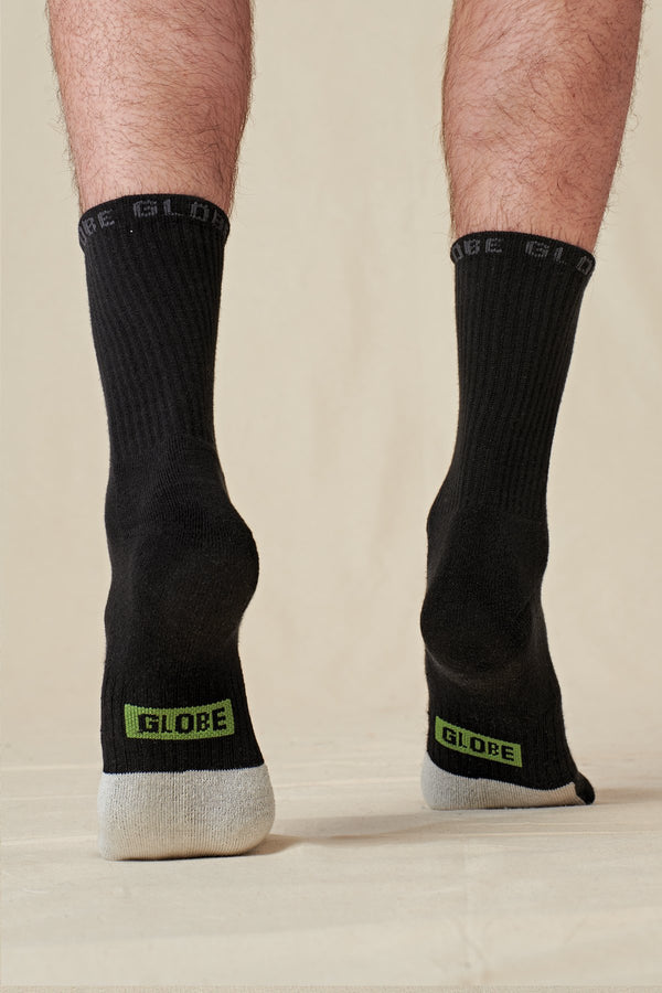 Globe Low Impact Crew Sock 3 Pack GB72009002