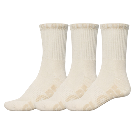 Globe Socks Bleach Free Crew Sock 3Pack Bleach Free