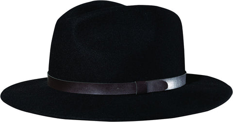 Globe Collins Wide Brim Black Hat