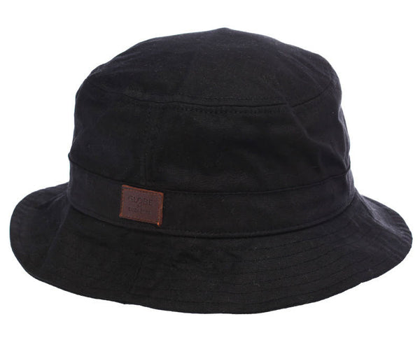 Globe Drizabone Bucket Hat GB71439025 BLACK Famous Rock Shop Newcastle NSW Australia