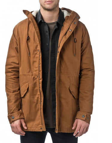 Globe Goodstock Fishtail lV Jacket Tobacco GB01737001