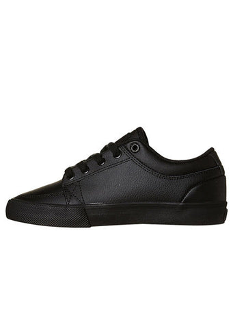 Globe Kids GS BTS Leather Shoe Black/ Black