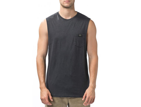 Globe Snow Muscle Washed Black