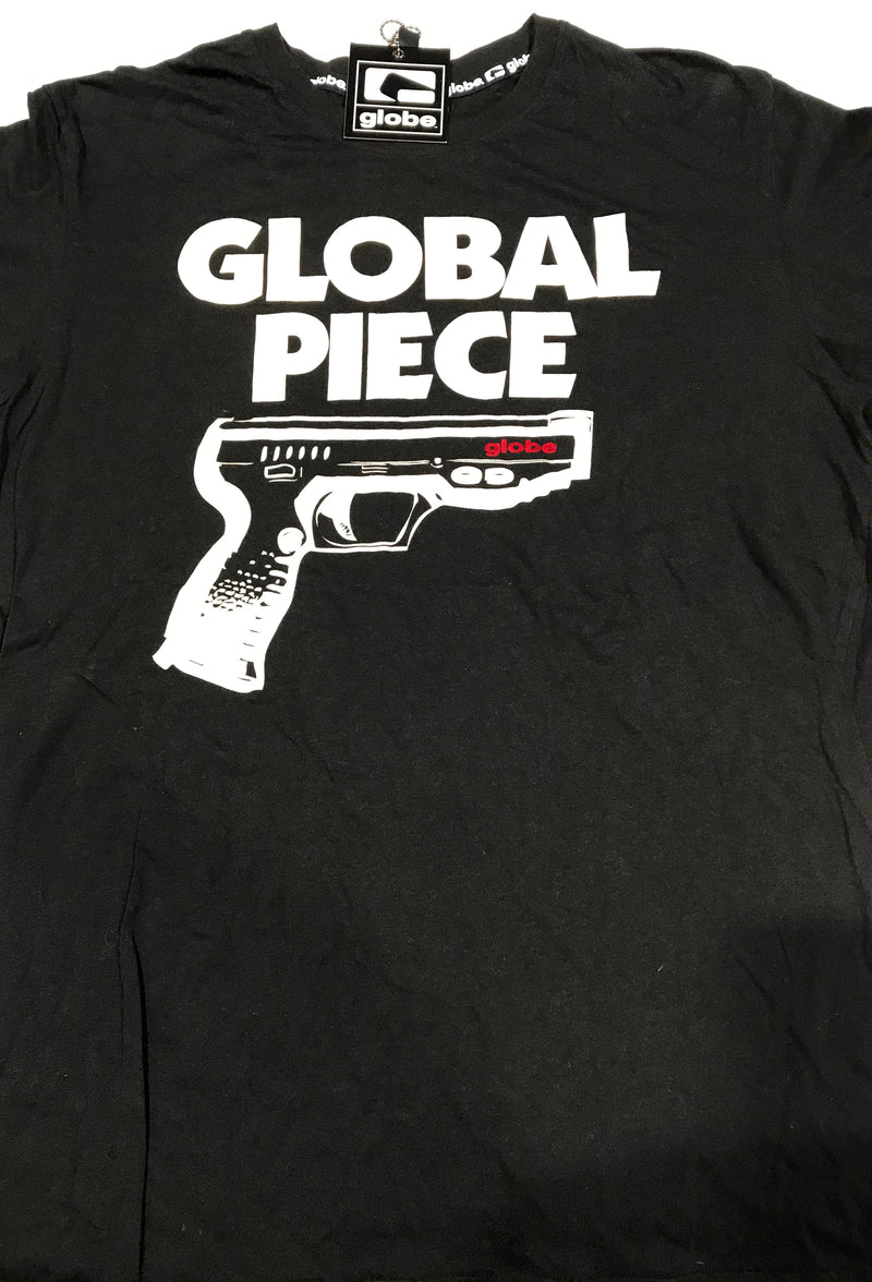 Globe Tee Global Piece Black GBO-73032 Famous Rock Shop Newcastle 2300 NSW Australia