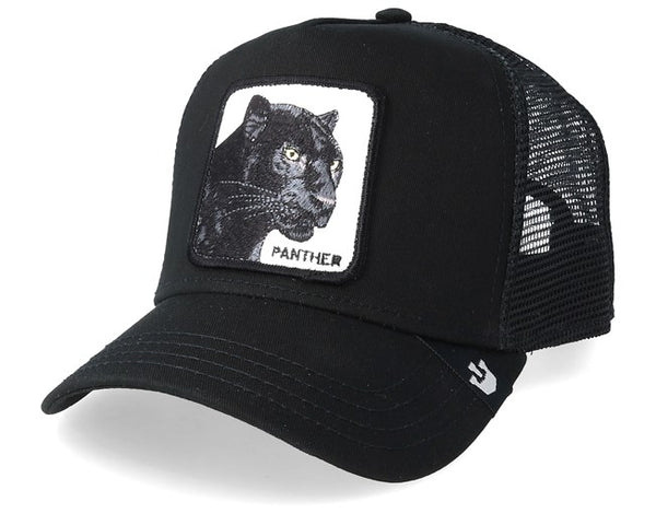 Goorin Bros Black Panther Black 1SFM Trucker Caps
