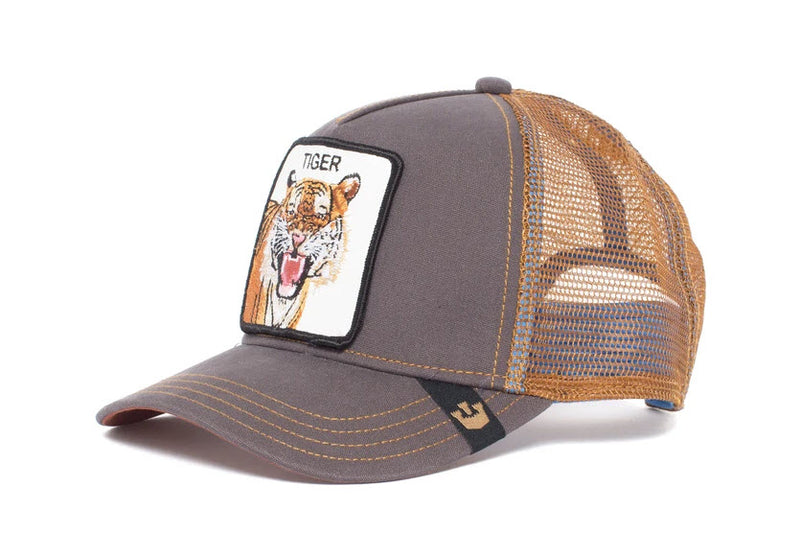 Goorin Bros Eye Of The Tiger Brown Tracker Hat Famous Rock Shop Newcastle, 2300 NSW. Australia. 2