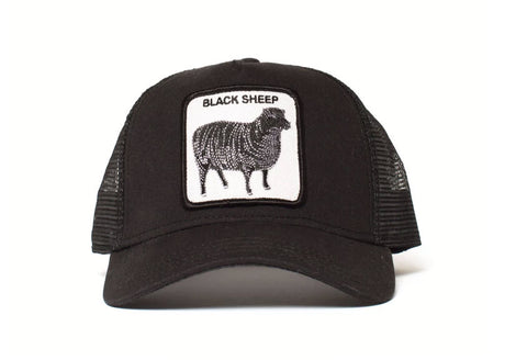 Goorin Bros Naughty Lamb Black Trucker Hat Famous Rock Shop Newcastle, 2300 NSW. Australia. 1