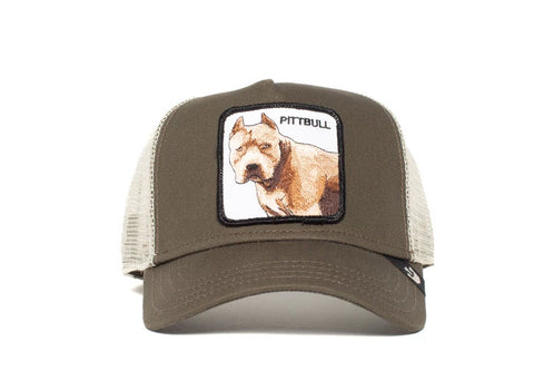 Goorin Bros Pitbull Grey Trucker Hat 101-0621 Famous Rock Shop Newcastle, 2300 NSW. Australia. 1