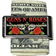 Guns N Roses Money Clip