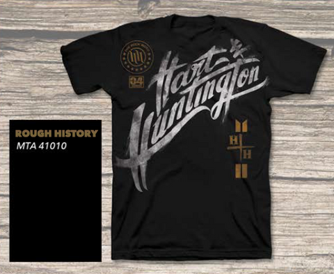 Hart & Huntington Rough History Black T-Shirt