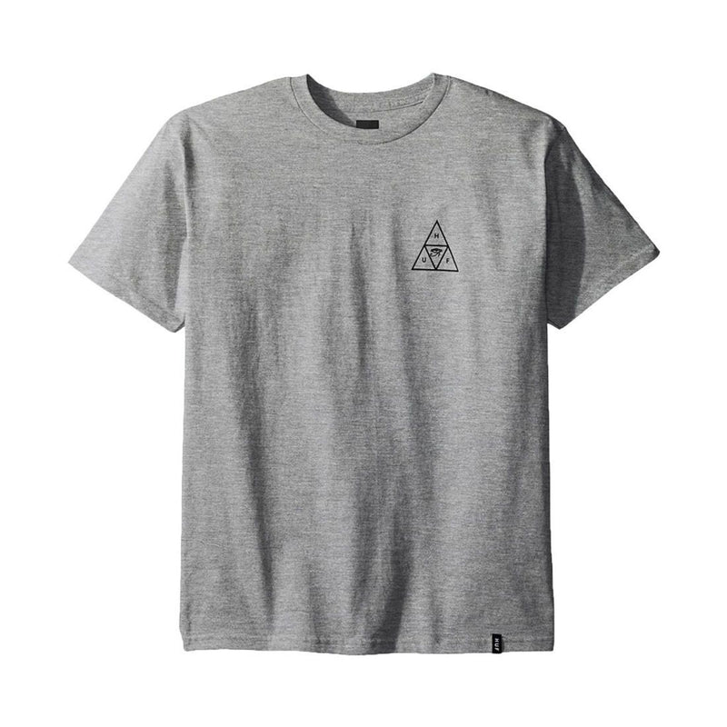 HUF Triple Triangle Tee Grey Famous Rock Shop Newcastle, 2300 NSW. Australia.
