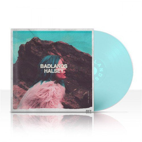 Halsey - Badlands Limited Edition Blue Coloured Vinyl LP Edition Soft Blue Vinyl Pressing! 'Badlands' is an artfully constructed concept album, musically tracing a journey through a dystopia that  Famous Rock Shop. 517 Hunter Street Newcastle, 2300 NSW Australia