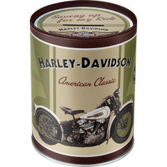 Harley Davidson American Classics Money Box Tin Famousrockshop