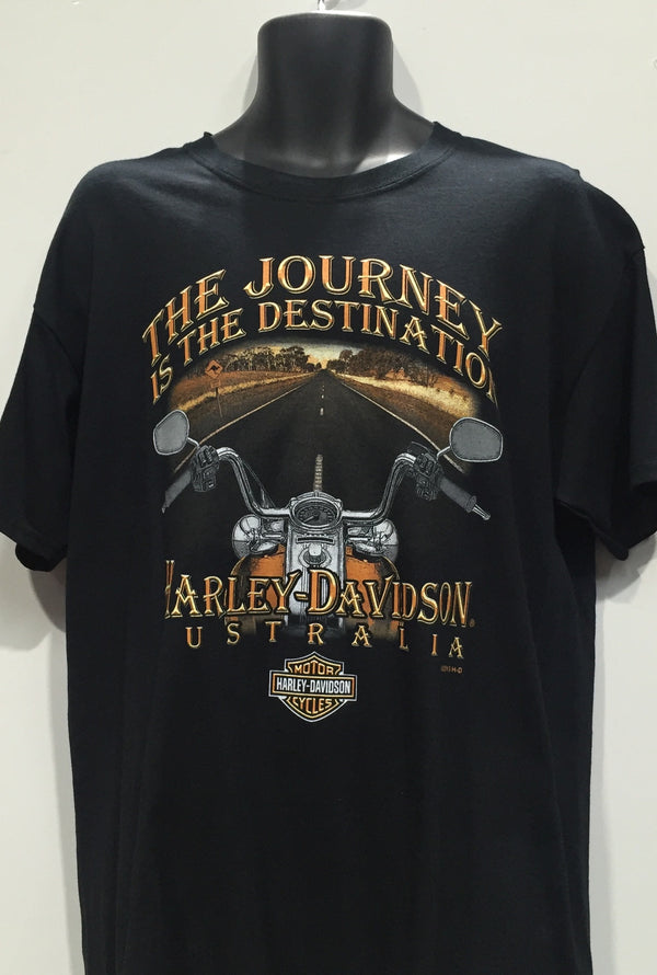 Harley Davidson The Journey the Destination  Famous Rock Shop Newcastle 2300 NSW Australia