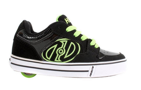 Heelys Motion Youth Black Lime 770149H