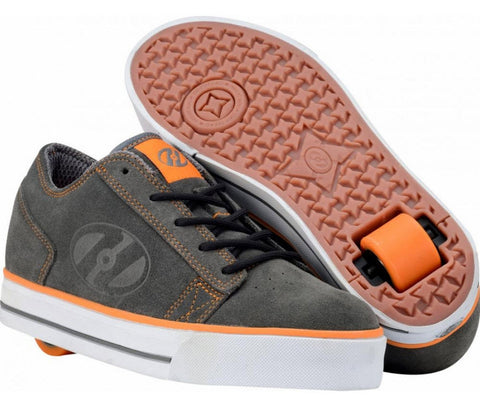 Heelys Plush Youth Grey/ Orange #7931