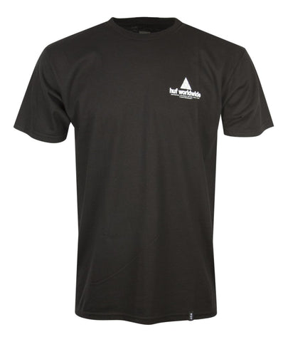 Huf Peak ss Tee Black Famous Rock Shop Newcastle NSW Australia
