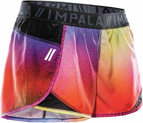Impala SH-1 SHORTS // BLACK MULTI